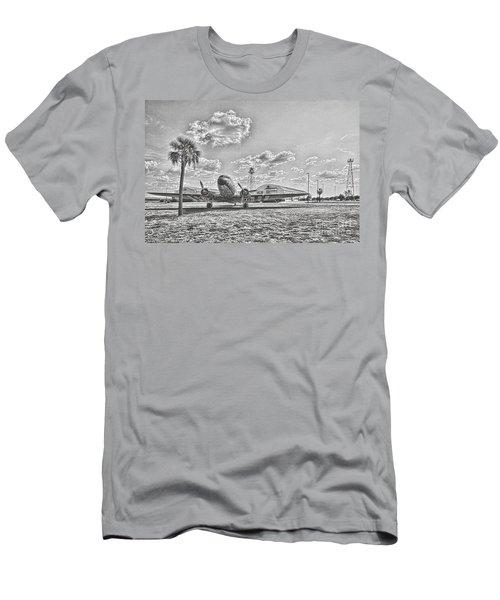 Hanger Hotel Men's T-Shirt (Athletic Fit)