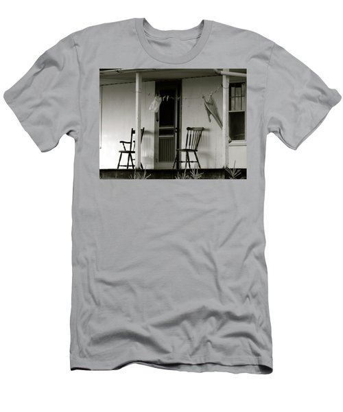 Hanging Out On The Porch Men's T-Shirt (Athletic Fit)