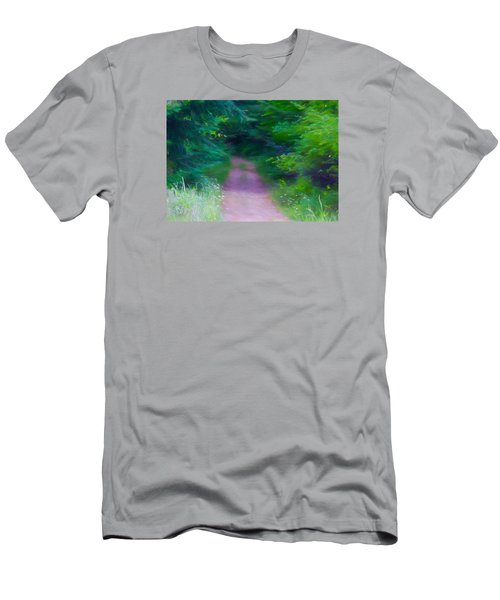 Men's T-Shirt (Slim Fit) featuring the photograph Hansel And Grettel by Susan Crossman Buscho