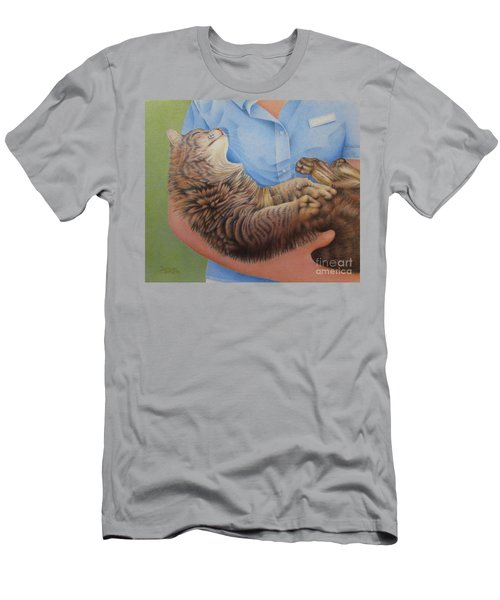 Happy Cat Men's T-Shirt (Athletic Fit)
