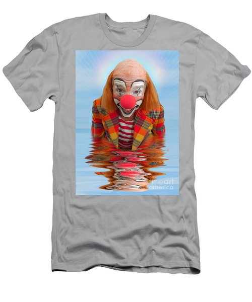 Happy Clown A173323 5x7 Men's T-Shirt (Athletic Fit)