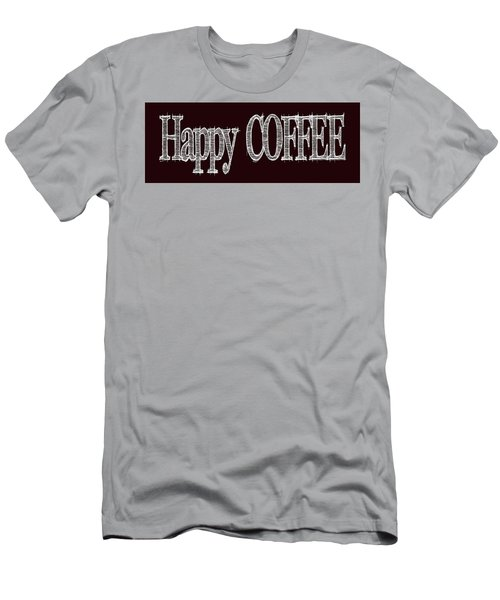 Happy Coffee Mug 2 Men's T-Shirt (Athletic Fit)