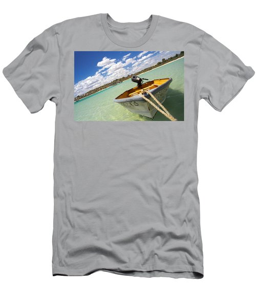 Happy Dinghy Men's T-Shirt (Athletic Fit)
