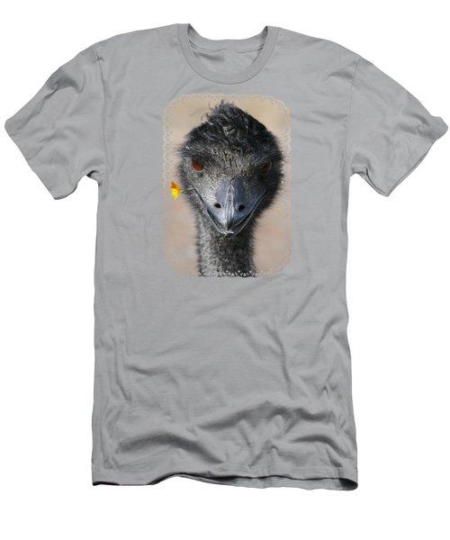 Happy Emu Men's T-Shirt (Athletic Fit)