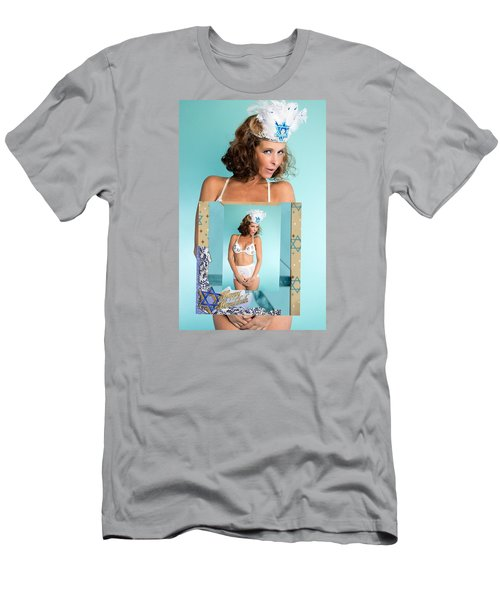Men's T-Shirt (Slim Fit) featuring the photograph Beautiful Jewish Women by Lisa Piper