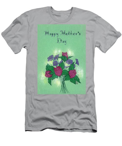 Happy Mother's Day  Men's T-Shirt (Athletic Fit)