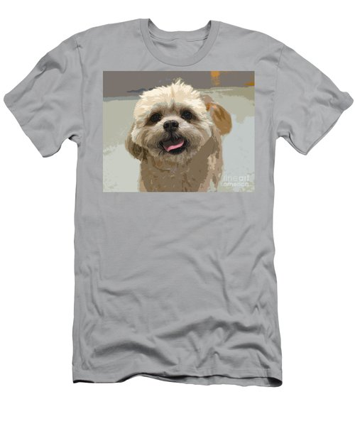 Happy Shih Tzu Men's T-Shirt (Athletic Fit)