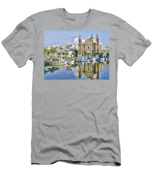 Harborside Msida Malta Men's T-Shirt (Athletic Fit)