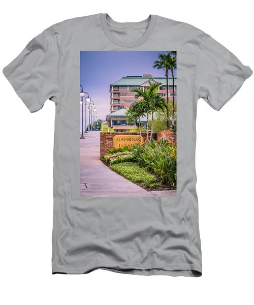 Harbour Island Retreat Men's T-Shirt (Athletic Fit)