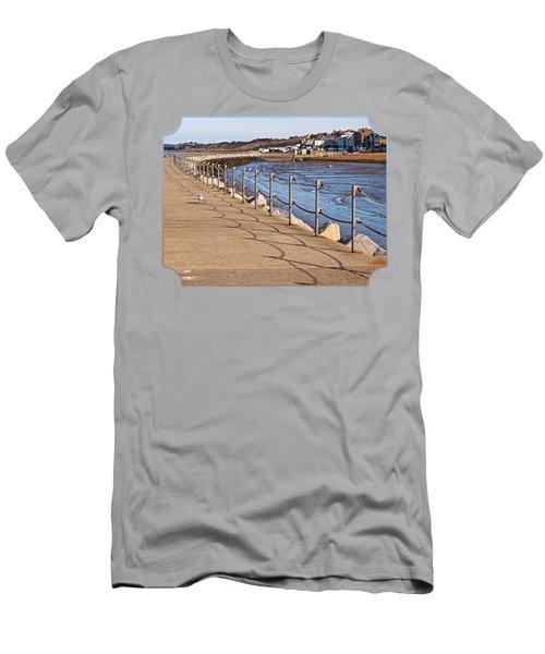 Harbour Wall Promenade Men's T-Shirt (Athletic Fit)