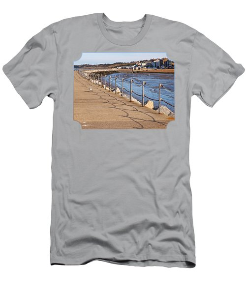 Harbour Wall Promenade Men's T-Shirt (Athletic Fit)