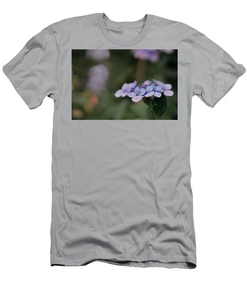 Men's T-Shirt (Athletic Fit) featuring the photograph Hardy Blue by Gene Garnace