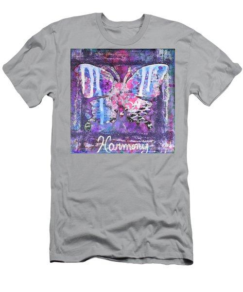 Harmony Butterfly Men's T-Shirt (Athletic Fit)