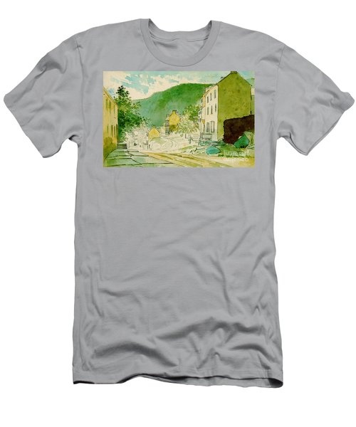 Harpers Ferry West Virginia 1873 Men's T-Shirt (Slim Fit) by Padre Art