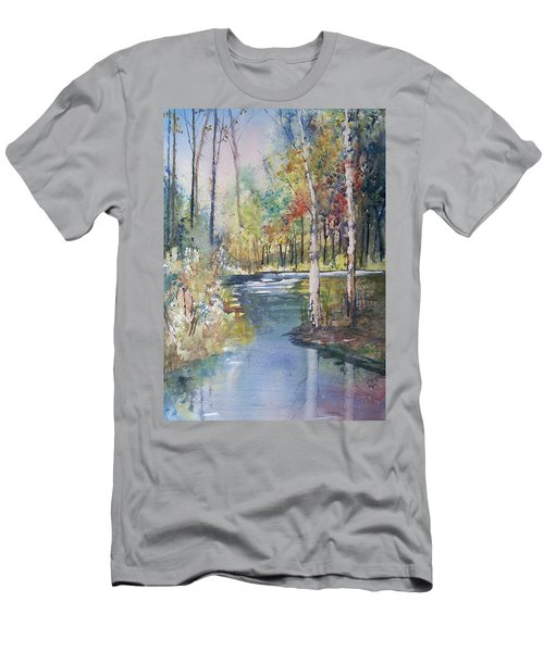 Hartman Creek Birches Men's T-Shirt (Athletic Fit)