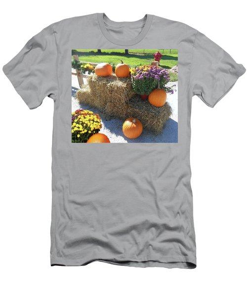 Men's T-Shirt (Athletic Fit) featuring the photograph Harvest Time  by Irina Sztukowski
