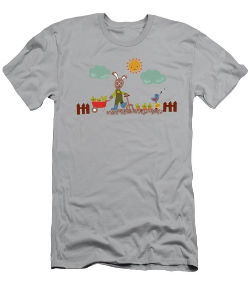 Harvest Time Men's T-Shirt (Slim Fit) by Kathrin Legg