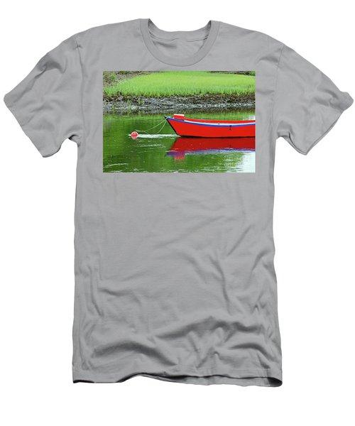 Harwich Rowboat Men's T-Shirt (Slim Fit) by Jim Gillen