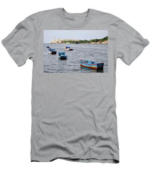 Havana Harbor Men's T-Shirt (Athletic Fit)