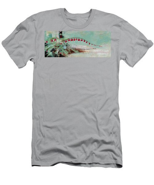 Have We Become Comfortably Numb Men's T-Shirt (Slim Fit) by Frances Marino