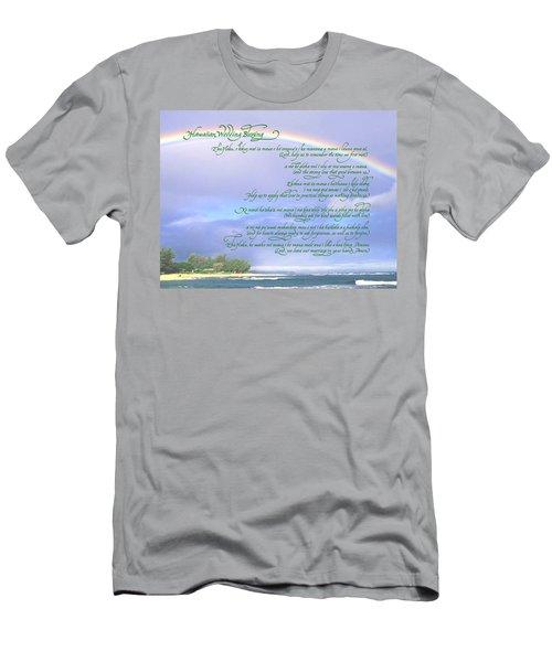 Hawaiian Language Wedding Blessing Men's T-Shirt (Athletic Fit)