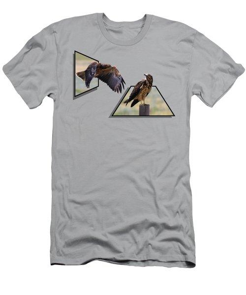 Hawks Men's T-Shirt (Athletic Fit)