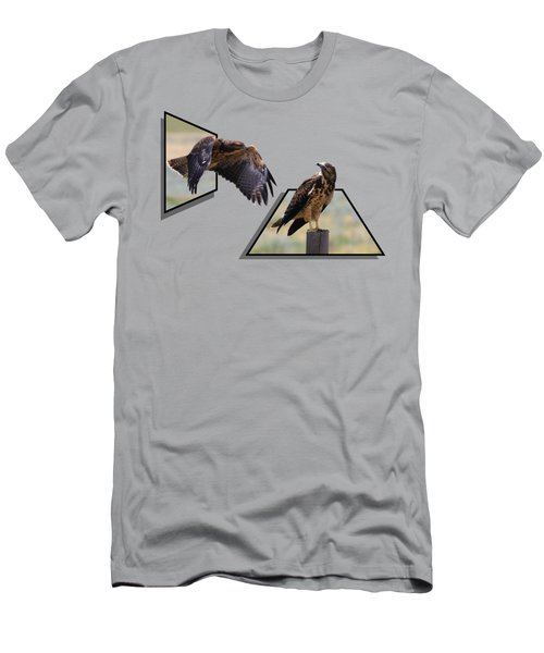 Hawks Men's T-Shirt (Athletic Fit)