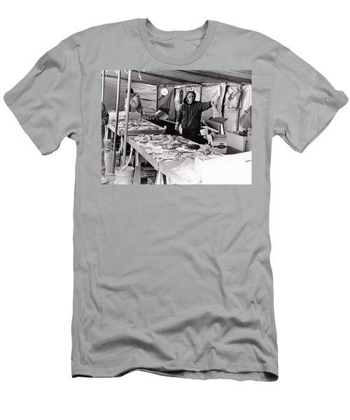 Hay Market  Men's T-Shirt (Athletic Fit)