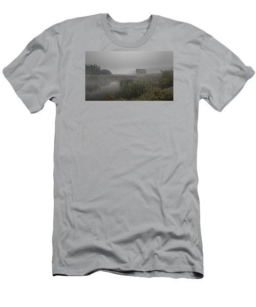 Haynes Ranch Predawn Men's T-Shirt (Slim Fit) by John Poon