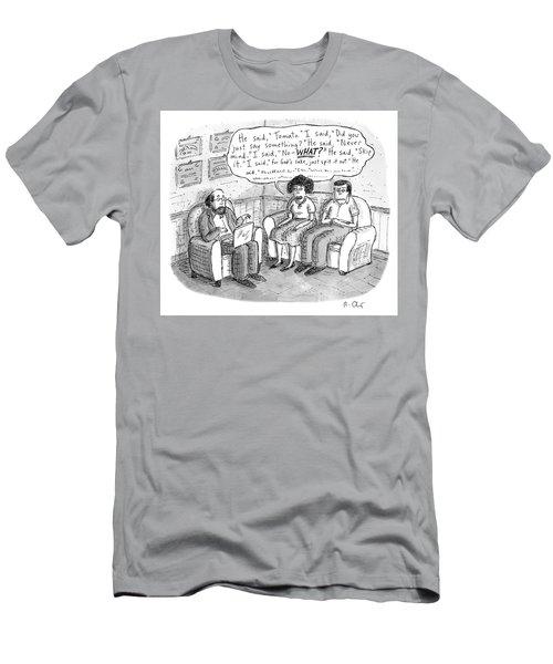 He Said Tomato Men's T-Shirt (Athletic Fit)