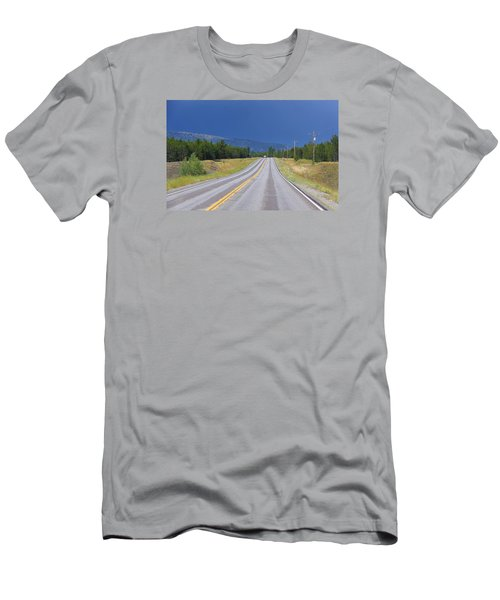 Heading Into The Storm Men's T-Shirt (Slim Fit) by Susan Crossman Buscho