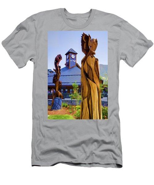 Heavenly Carvings Men's T-Shirt (Athletic Fit)