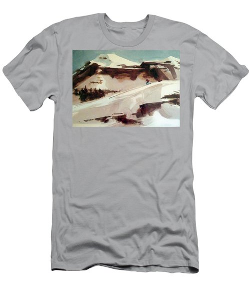 Men's T-Shirt (Slim Fit) featuring the painting Heavenly by Ed Heaton