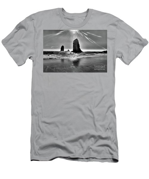 Heavenly Light Men's T-Shirt (Slim Fit) by Scott Cameron