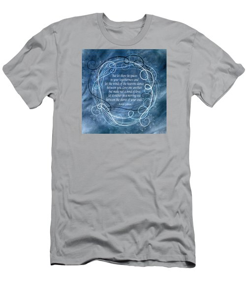 Men's T-Shirt (Slim Fit) featuring the digital art Heavens Dance by Angelina Vick