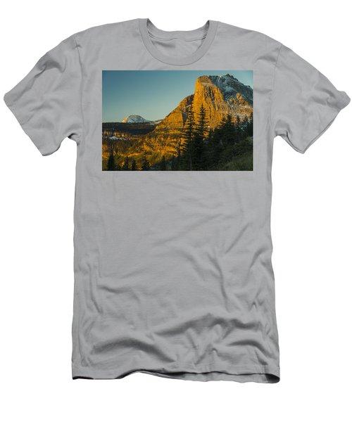 Heavy Runner Mountain Men's T-Shirt (Athletic Fit)