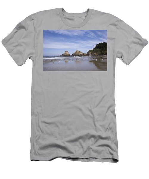 Heceta Head Lighthouse 1 Men's T-Shirt (Athletic Fit)