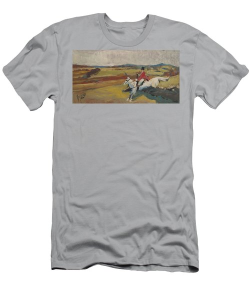 Hedge Hopping Britain Men's T-Shirt (Athletic Fit)