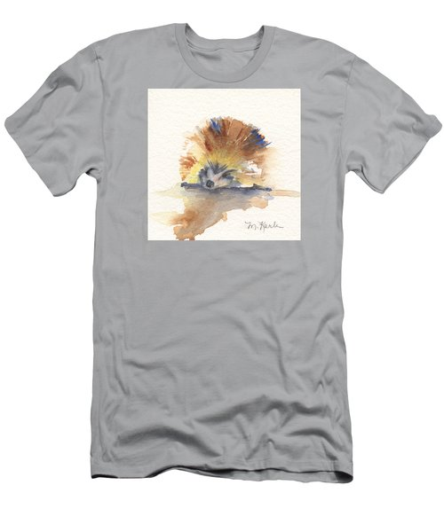 Hedgehog Men's T-Shirt (Athletic Fit)
