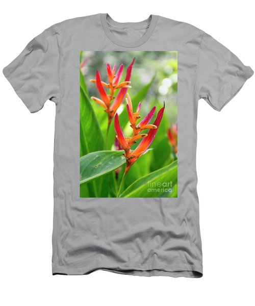 Heliconia Psittacorum Men's T-Shirt (Athletic Fit)