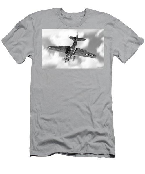 Helldiver Men's T-Shirt (Slim Fit) by Douglas Castleman