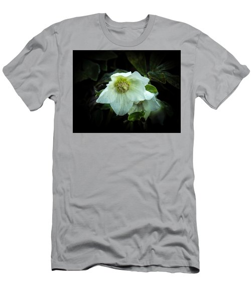 Helleborus Through The Darkness Men's T-Shirt (Athletic Fit)