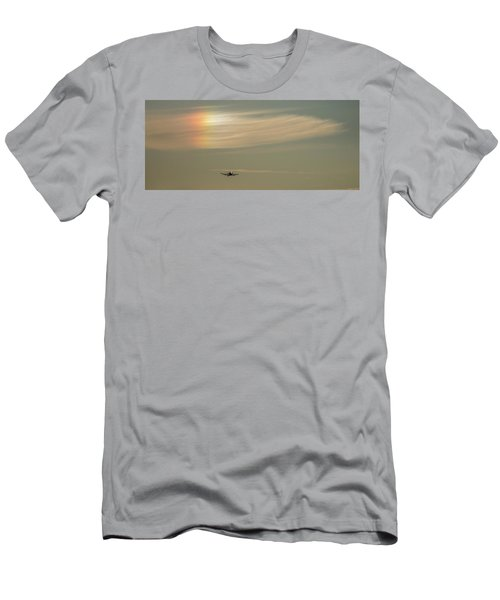 Here We Go Into The Wild Blue Yonder Men's T-Shirt (Athletic Fit)