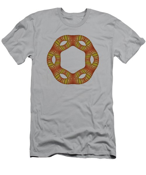 Hexagonyl Tile Men's T-Shirt (Athletic Fit)