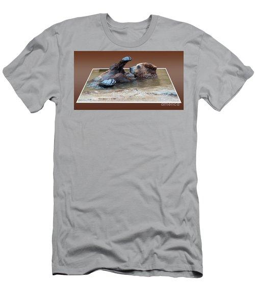 Hi I'm Little Bear Men's T-Shirt (Athletic Fit)