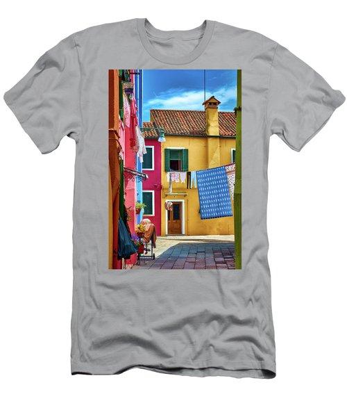 Hidden Magical Alley Men's T-Shirt (Athletic Fit)