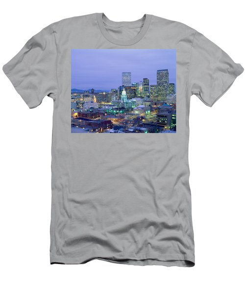 High Angle View Of The State Capitol Men's T-Shirt (Athletic Fit)