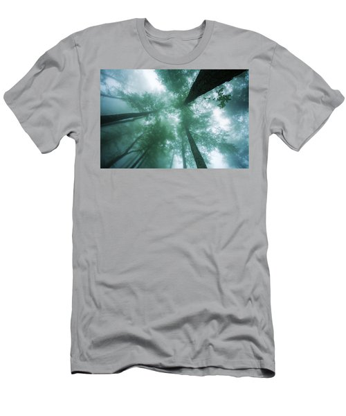 High In The Mist Men's T-Shirt (Athletic Fit)