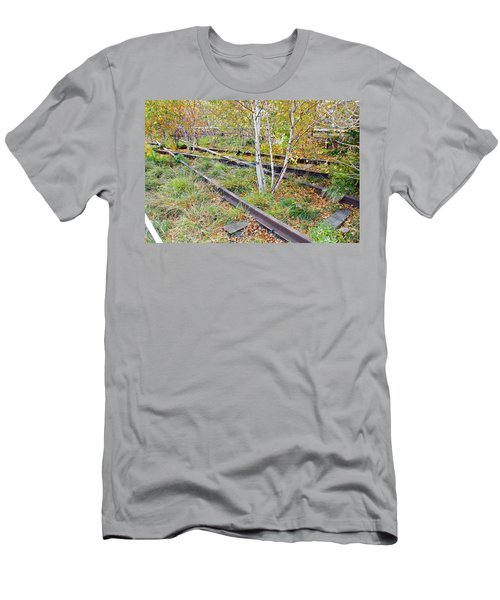 High Line Print 2 Men's T-Shirt (Slim Fit) by Terry Wallace