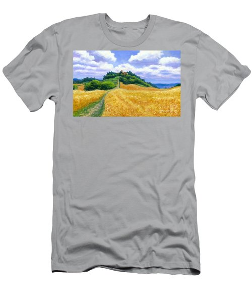 High Noon Tuscany  Men's T-Shirt (Slim Fit) by Michael Swanson